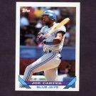 1993 Topps Baseball #350 Joe Carter - Toronto Blue Jays