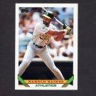 1993 Topps Baseball #345 Harold Baines - Oakland A's