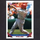 1993 Topps Baseball #340 John Kruk - Philadelphia Phillies