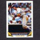 1993 Topps Baseball #315 Edgar Martinez - Seattle Mariners