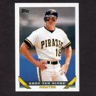 1993 Topps Baseball #275 Andy Van Slyke - Pittsburgh Pirates