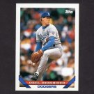 1993 Topps Baseball #255 Orel Hershiser - Los Angeles Dodgers