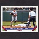1993 Topps Baseball #250 Chuck Knoblauch - Minnesota Twins