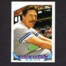 1993 Topps Baseball #185 Jack Morris - Toronto Blue Jays