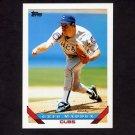 1993 Topps Baseball #183 Greg Maddux - Chicago Cubs