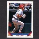 1993 Topps Baseball #180 Darren Daulton - Philadelphia Phillies