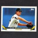 1993 Topps Baseball #163 Tim Wakefield - Pittsburgh Pirates