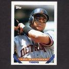 1993 Topps Baseball #160 Lou Whitaker - Detroit Tigers