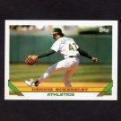 1993 Topps Baseball #155 Dennis Eckersley - Oakland A's