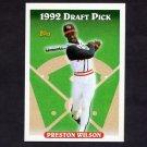 1993 Topps Baseball #132 Preston Wilson RC - New York Mets