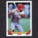 1993 Topps Baseball #110 Barry Larkin - Cincinnati Reds