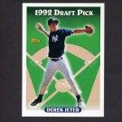 1993 Topps Baseball #098 Derek Jeter RC - New York Yankees