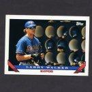 1993 Topps Baseball #095 Larry Walker - Montreal Expos