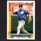 1993 Topps Baseball #068 Omar Vizquel - Seattle Mariners