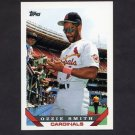 1993 Topps Baseball #040 Ozzie Smith - St. Louis Cardinals