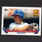 1993 Topps Baseball #011 Eric Karros - Los Angeles Dodgers