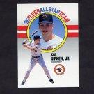 1990 Fleer Baseball All-Stars #08 Cal Ripken - Baltimore Orioles
