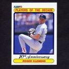 1990 Fleer Baseball #627 Roger Clemens - Boston Red Sox