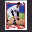 1990 Fleer Baseball #550 Robin Ventura - Chicago White Sox