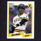 1990 Fleer Baseball #461 Barry Bonds - Pittsburgh Pirates