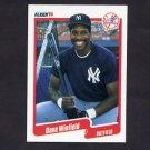 1990 Fleer Baseball #458 Dave Winfield - New York Yankees