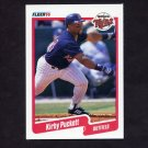 1990 Fleer Baseball #383 Kirby Puckett - Minnesota Twins
