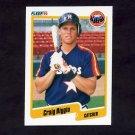 1990 Fleer Baseball #224 Craig Biggio - Houston Astros
