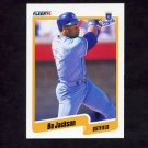 1990 Fleer Baseball #110 Bo Jackson - Kansas City Royals NM-M