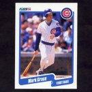 1990 Fleer Baseball #032 Mark Grace - Chicago Cubs