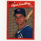 1990 Donruss Baseball Bonus MVP's #BC10 Ryne Sandberg - Chicago Cubs NM-M