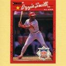1990 Donruss Baseball #710B Ozzie Smith AS - St. Louis Cardinals