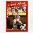 1990 Donruss Baseball #697B Mark McGwire AS - Oakland A's ExMt