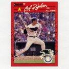 1990 Donruss Baseball #676A Cal Ripken AS - Baltimore Orioles ExMt