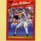 1990 Donruss Baseball #671 John Wetteland - Los Angeles Dodgers
