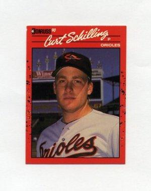 1990 Donruss Baseball #667 Curt Schilling - Baltimore Orioles ExMt