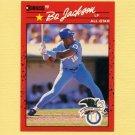 1990 Donruss Baseball #650B Bo Jackson AS - Kansas City Royals