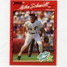 1990 Donruss Baseball #643 Mike Schmidt - Philadelphia Phillies Ex