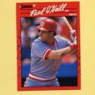 1990 Donruss Baseball #198 Paul O'Neill - Cincinnati Reds