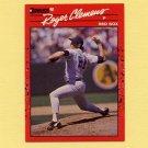 1990 Donruss Baseball #184 Roger Clemens - Boston Red Sox ExMt