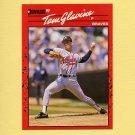 1990 Donruss Baseball #145 Tom Glavine - Atlanta Braves