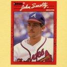 1990 Donruss Baseball #121 John Smoltz - Atlanta Braves