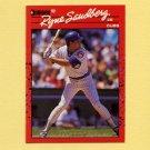1990 Donruss Baseball #105 Ryne Sandberg - Chicago Cubs