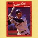 1990 Donruss Baseball #058 Carlton Fisk - Chicago White Sox