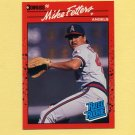 1990 Donruss Baseball #035 Mike Fetters RC - California Angels