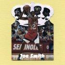 1995 Pacific Prisms Basketball Platinum Crown Die Cuts #P4 Joe Smith - Golden State Warriors