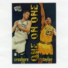 1997-98 Press Pass Basketball One On One #9 Austin Croshere / Maurice Taylor