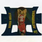 1997-98 Press Pass Basketball Net Burners #NB29 Bubba Wells