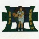 1997-98 Press Pass Basketball Net Burners #NB16 Alvin Sims
