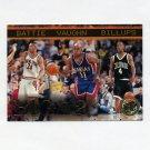 1997-98 Press Pass Basketball #43 Jacque Vaughn / Chauncey Billups / Tony Battie