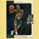 1995-96 SP Basketball #125 Gary Payton - Seattle Supersonics